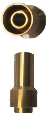 Veilleuse 110 - 5x75 mâle - hauteur 34 hors filetage
