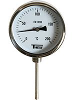 THERMOMETRE INOX mesure verticale -30°C à 200°C