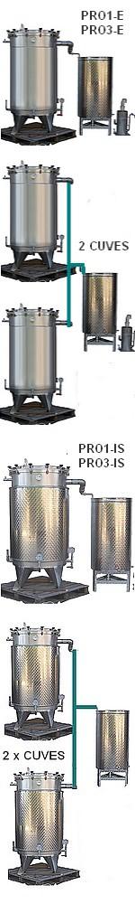 ALAMBICS INOX PRO3-IS - 1000 LITRES