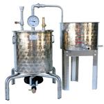 ALAMBICS INOX SP-R - 30 LITRES  Hydro distillation