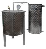 ALAMBICS INOX SP-R-B - 150 LITRES - Permet aussi distillation roses (hydrolats)