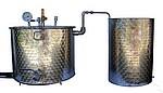 ALAMBICS INOX SP-R-B - 150 -200 LITRES - Permet aussi distillation roses (hydrolats)