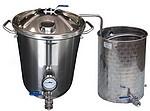 ALAMBICS INOX XPRB -40-60-100-150 Litres   - Permet aussi distillation roses (hydrolats)