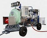 CHAUDIERES VAPEUR MOBILES GASOIL - 0,5 bars