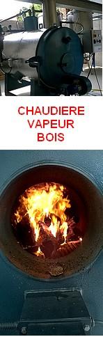 CHAUDIERES VAPEUR BOIS série E - modèles