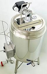 CUVE chauffage ELECTRIQUE  25-50 litres + melangeur - double paroi eau
