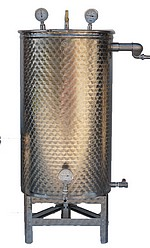 1° CUVE INOX pour distillateur - Sélectionner le nombre de cuves
