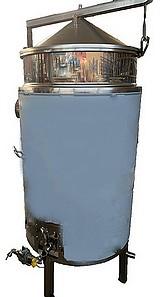 CUVE EBULLITION - CHAUFFAGE GAZ  RAPIDE - 200 à 500  litres