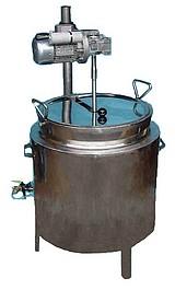 CUVE TRIPLE PAROI - avec HUILE thermique  - chauffage GAZ - spéciale CONFITURES