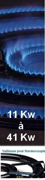 BRULEURS GAZ  11 KW à 20 KW