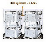 GENERATEUR VAPEUR MA 240 - 200 à 360 kg/g