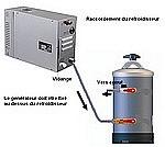 Kit refroidisseur eau de vidange