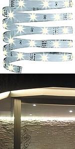 Kit éclairage RUBANS LEDS BLANC