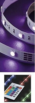 KIT Chromothérapie RUBANS LEDS - 24 COULEURS + BLANC