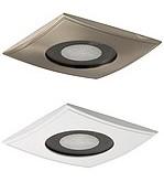 Kit éclairage BLANC hammam PRO - modèle SRC - ALU brossé ou  laqué BLANC