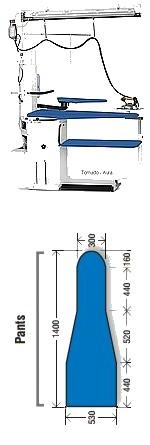 TORNADO PANTALONS - 4 fonctions - Ergonomique - Avec ou sans Fer vapeur